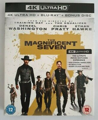 Magnificent Seven 4K UHD Blu Ray With Blu-ray, Watched Once, Excellent Condition
