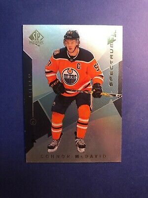 2018-19 UD SP Authentic Hockey Spectrum FX #S-5 Connor McDavid - Unscratched