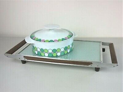 Salton Hotray Automatic Food Warmer Electric Buffet Dining H320 MCM Vintage