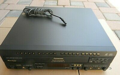 Panasonic LX-K750 Auto Reverse Multi Laser Disc Player