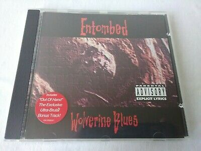 Entombed Wolverine Blues CD 1193 Earache Records Death Metal