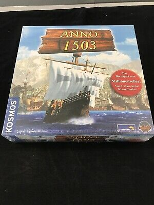 Anno 1503 The Board Game Klaus Teuber (Catan) COSMOS NEW German Collectable G19