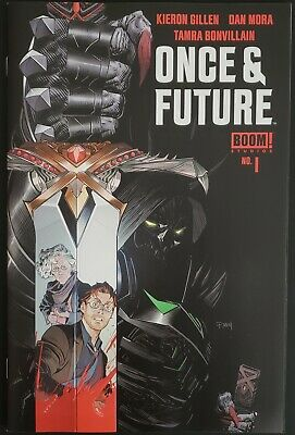 Once and Future #1 (2019, Boom!) 1st Print Gillen Mora