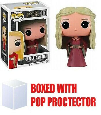 Funko Pop! Game of Thrones Cersei Lannister #11 Vinyl Figure WITH PROTECTOR!