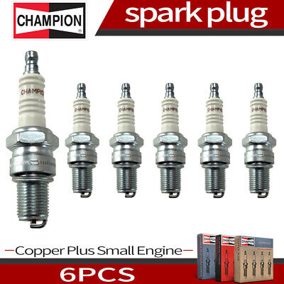 Champion Copper Plus 6pcs Spark Plug For 1960-1961 Chevrolet Corvair H6 2.3L U/K