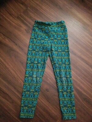 Lularoe Leggings Girls Kids Size S/M Some Wear See Pics