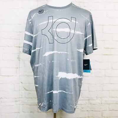 MEN'S NIKE KD T Shirt Size Small S Easy Buckets Trust the