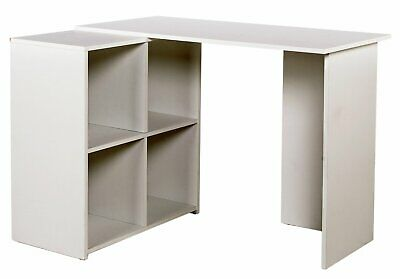 HOME Calgary Corner Desk - White.