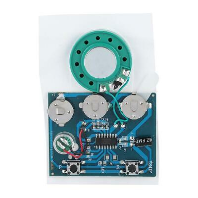 27s Recordable Sound Music Voice Module Chip 0.5W & Button Battery Key Control