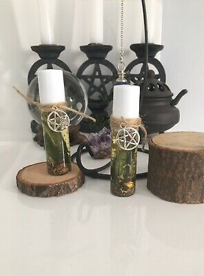 Sage essential anointing oil, protection herbs, charms, Wiccan, Pagan