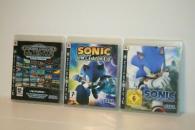 Sonic The Hedgehog + Unleashed + Sega Mega Drive Ultimate Collection _ Sony Ps3