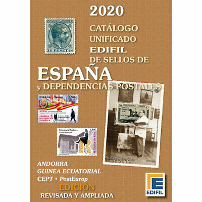 Catalogo Edifil Sellos España Y Dependencias Postales Edicion 2020 A Color