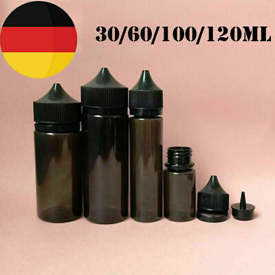 30/60/100/120ML PE/PET Plastic Dropper Bottles Liquid Juice Water Containers GBN
