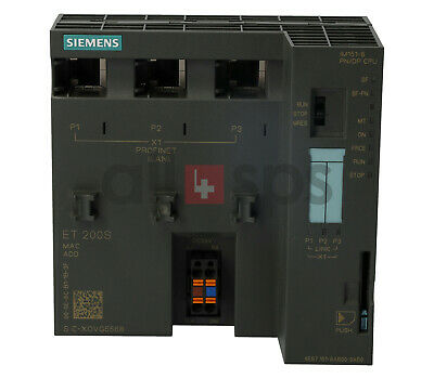 Simatic Dp Im151-8 Pn/Dp Cpu, 6Es7151-8Ab00-0Ab0 (Us)