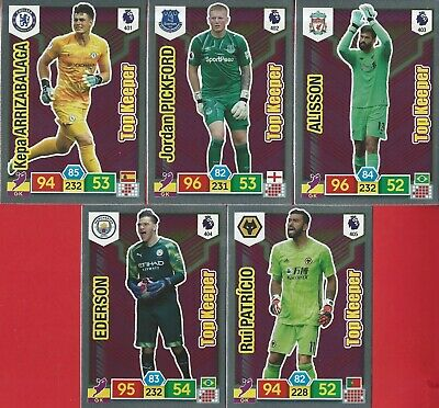 Panini Adrenalyn Xl Premier League 2019/20 - 'Top Keepers' - Pick Your Player !