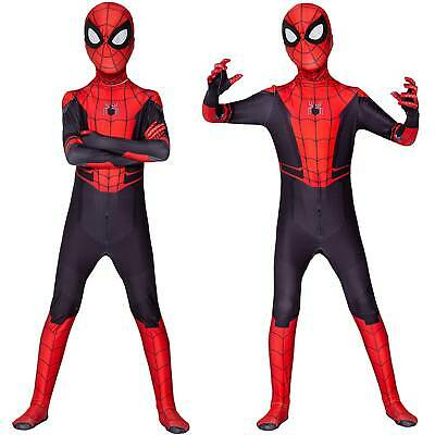 Kids Boys Men Spiderman Homecoming Cosplay Costume Party Tights Fancy Jumpsuit