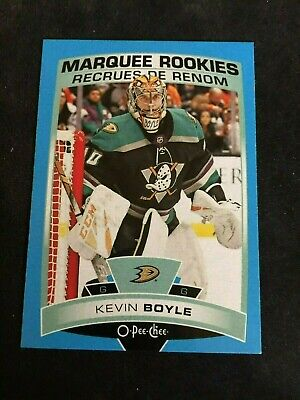 💕2019-20 OPC Marquee Rookies BLUE #541 Kevin Boyle 💕