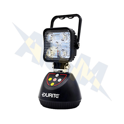 Portable Work Lamp Durite Cob Rechargeable LED 0-541-35
