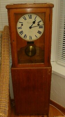 GENSIGN CLOCK - GENERAL SIGNAL & TIME SYSTEMS LTD - Old Railway Clock? Antique