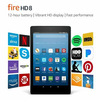 Amazon Fire HD 8 (see What Is Included) 32GB, Wi-Fi, 8In - Black