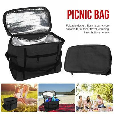 Extra Large 10L Insulated Cooler Cool Bag Box Picnic Camping Food Drink Ice