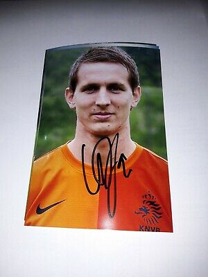 Signed Photo Luuk de Jong Netherlands Psv Eindhoven New IN