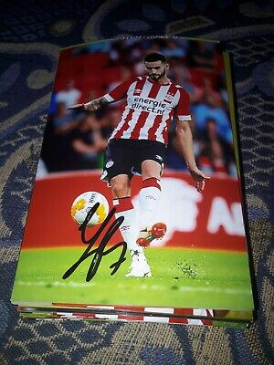 Signed Photo Gaston Pereiro Psv Eindhoven New IN