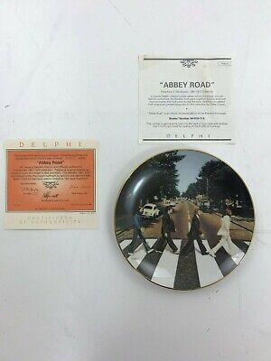 """The Beatles Colletable Plate """"Abbey Road"""" 1967-1970 Collection 372C"""