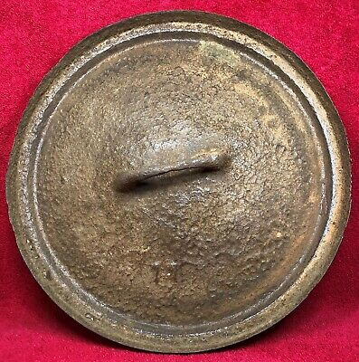 ANTIQUE No 11 Cast Iron Dutch Oven LID ONLY with Gate Mark