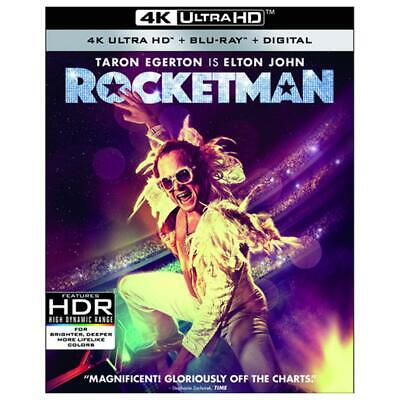 Rocketman 4K Ultra HD, Blu-ray, Digital BRAND NEW Elton John 4K UHD