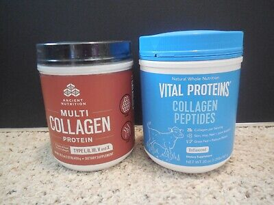 Vital Proteins Collagen Peptides AND Dr. Axe Ancient Nutrition Multi Collagen