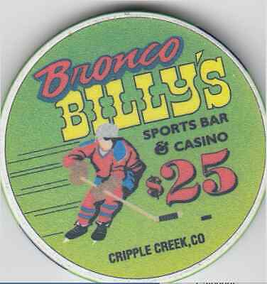 Bronco Billy's - Cripple Creek, CO $25 House Casino Chip