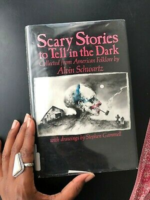 Scary Stories to Tell in the Dark by Alvin Schwartz (1981) First Edition RARE!!!