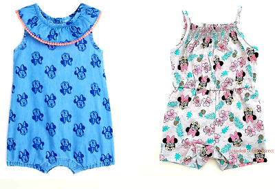 Baby Girl Disney Clothes Baby Outfits Minnie Mouse Romper Babies 0-3 Years