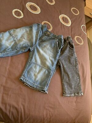 Boys Denim Shorts X2 Age 11. Hardly Worn.