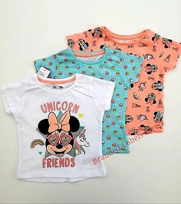 Baby Girl Cloths Outfit Disney Minnie Mouse Romper Babies 0-3 Years