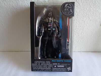 "Star Wars Black Series - Darth Vader #02  6"" Action Figure (Blue Line )"