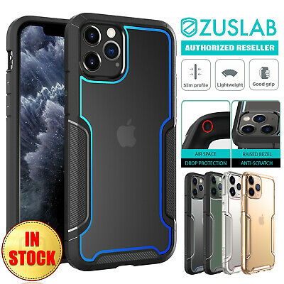 iPhone 11 Pro Max Case ZUSLAB Heavy Duty Shockproof Slim Clear Cover for Apple