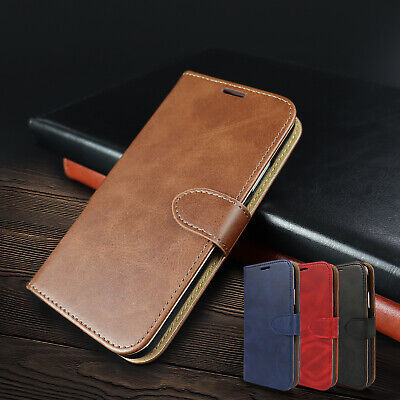 iPhone 11 Pro Max Case Card Slot Leather Wallet Stand Shockproof Cover for Apple