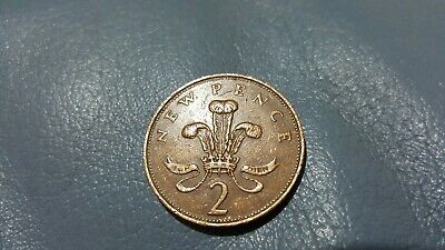 """1971  2p """"New Pence"""", """"New Penny"""" Extremely Rare 2p Coin"""
