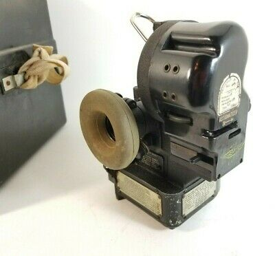 VINTAGE Aircraft Bomber Sextant Bubble US ARMY AIR-FORCE TYPE AN-5851-1 WWII
