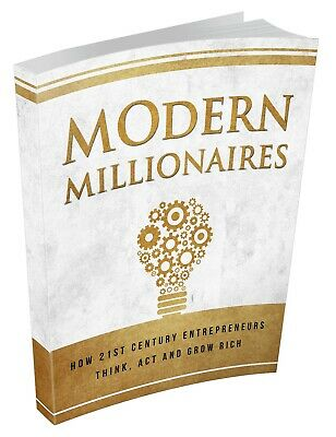 Modern Millionaires- DIGITAL DOWNLOAD/Book/Textbook/Information/Money/Guide