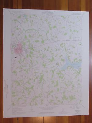 Hillsboro Ohio 1976 Original Vintage USGS Topo Map