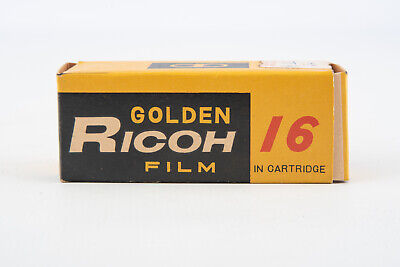 Vintage Golden Ricoh Film Unopened In Original Package EXPIRED VERY RARE V17