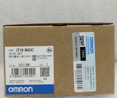 1PCS Omron PLC Analog I/O Module CP1W-MAD42 CP1WMAD42 In Box -New