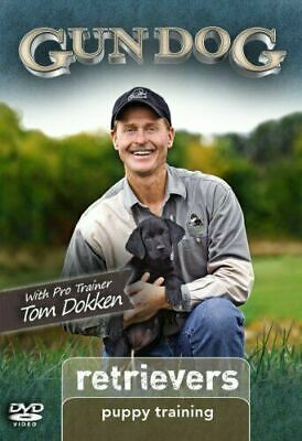 Gun Dog: Retrievers - Puppy Training (2011, DVD) w/Pro Trainer Tom Dokken MINT
