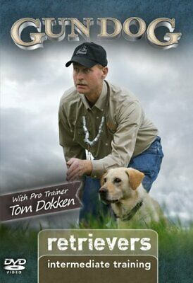 GUN DOG: Retrievers - TRAINING - With Pro Trainer TOM DOKKEN (DVD) SEALED