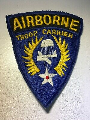 Reproduction WWII US Army Airborne Troop Carrier Ninth 9th Command Patch WW2