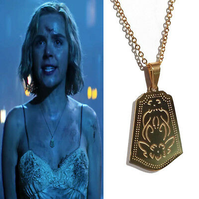 Chilling Adventures of Sabrina Figure Toy Sabrina Spellman Metal Necklace