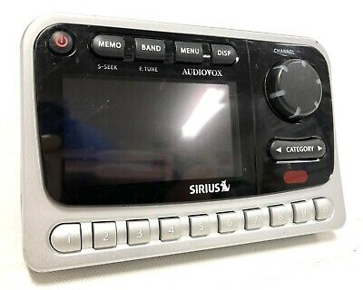 Sirius XM Satellite Radio Audiovox PNP2 Receiver ONLY Strong FM Transmitter